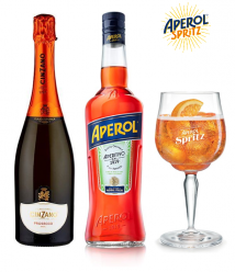 Aperol Spritz Giftpack With Free Glass