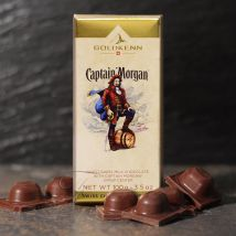 Captain Morgan Rum Liqueur Chocolate Bar 100g