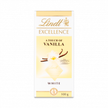 Lindt Excellence White Vanilla 100g