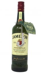 "Jameson 70cl With A Free ""J"" Bottle Opener Keyring"