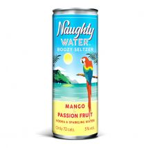 Naughty Water Mango & Passionfruit 4 x 250ml