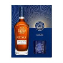 Metaxa 12 Star 70cl With 2 Glasses