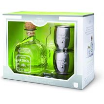 Patron Silver Tequila 70cl Giftpack