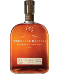 Woodford Reserve Bourbon 70cl With Free Old Fashioned Syrup